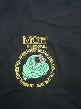 mott the hoople  1st annual convention 1999 sweatshirt