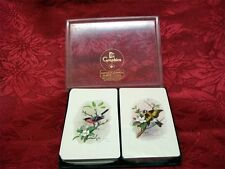 Graphica Double Deck Playing Cards in original box; Bird design; Made in Canada