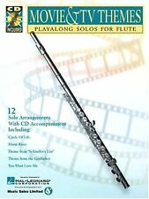 MOVIE & TV THEMES Playalong Solos for Flute w/CD