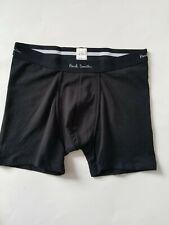 NEW PAUL SMITH  Trunks, Boxer Brief Underwear Size M Black