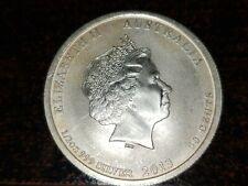 2013 1/2 Oz. U.S. Australian Silver BU Coin Alliance WWII Memorial Perth Mint