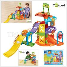Kid Toys VTech Tower Car Smart Set Educational Vehicles Wheels Race Park Playset