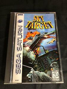 Sky Target Sega Saturn Complete in Box