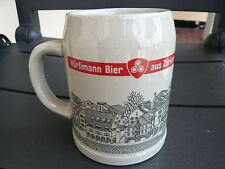 TRES BELLE CHOPE A BIERE SUISSE HURLIMANN ZURICH avec blason FC EGG SENIOREN