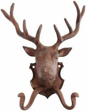 Fallen Fruits Cast Iron Coathooks Wall Hooks, Deer, Stag, Dog or Cat