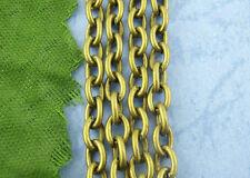5M Chaîne maille Forçat Couleur Bronze 3x4mm