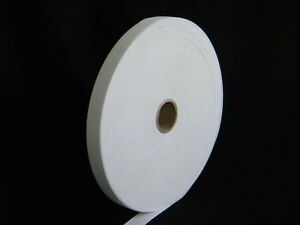 """Knitted Elastic 1/2"""" wide x 5 yards long - White Band"""