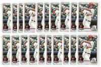 x100 NOLAN GORMAN 2020 Bowman Prospects #66 Rookie Card RC lot/set Cardinals hot