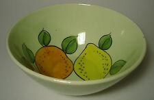 Schramberger Majolika Salatschüssel Schale bowl 50s 50er german pottery