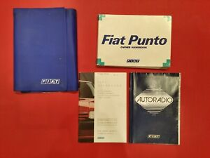 1993 - 2000 Fiat Punto Owners Manual Handbook, Service Book, Wallet Pack