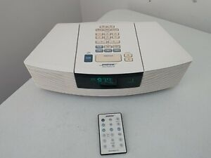 Bose Wave AWRC-1P Stereo CD Player and Radio with Remote - White