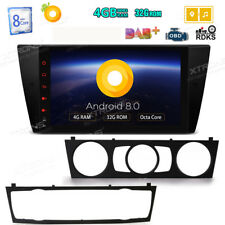 9'' Android 8.0 Car Multimedia GPS Navi Radio 4GB RAM for BMW 3 Series E90 TPMS