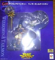 G.E.M. Series Digimon Adventure Wizardmon & Tailmon MegaHouse Figure From JAPAN