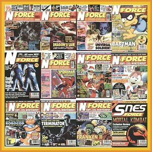 N-Force - Snes Force - Video Games Magazine – Complete Run - PDF Download