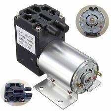 DC12V 5L/min 120kpa Micro-pump Vacuum Pumps Negative Pressure Suction w/ Holder