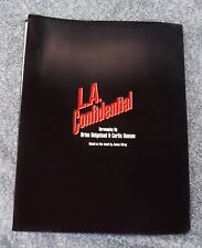 L.A. CONFIDENTIAL :1996 REVISED DRAFT SCRIPT FROM CLASSIC CRIME FILM