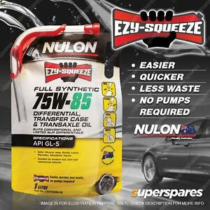 Nulon EZY-SQUEEZE Full Synthetic 75W85 Differential Transfer Case Transaxle Oil