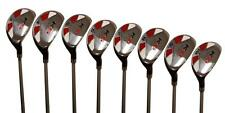 Mens Senior Hybrid Golf Set 3 - pw Graphite Clubs Right Hand Rescue All Hybrids