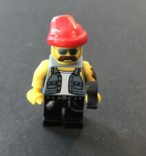 Lego Minifigures Series 10 # 16 Motorcycle Mechanic (M6)