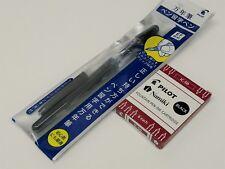 Pilot FP-60R Penmanship Extra Fine Fountain pen+ 7 Black Ink Cartridges, Black