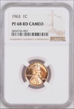1963 NGC PF68 CAMEO Proof Lincoln Cent