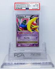 Pokemon Great Encounters Cresselia Lv X #103 Ultra Rare Holo Psa 8 Nm-Mint #*