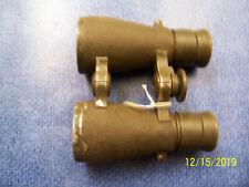 "Vintage German Military ""FELDGLAS 08"" Emil Busch AG/Wrathenow Binoculars"