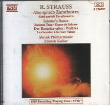 R. Strauss Also sprach Zarathustra 1989 Naxos CD In Full Jewel Case