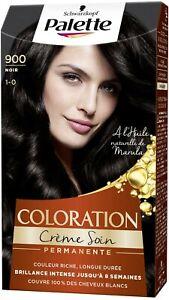 coloration cheveux Schwarzkopf - Palette - Coloration Cheveux Permanente - Noir