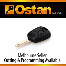 Complete Integrated Key & Remote to suit Peugeot 206, 1999-2007 (Aftermarket)