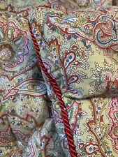 Edredon Duvet Oie Ancien Boutis Couverture Piquee Antique Vintage Fabric quilt