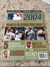 2004 Major League Baseball Magazine Stars Roster Schedule