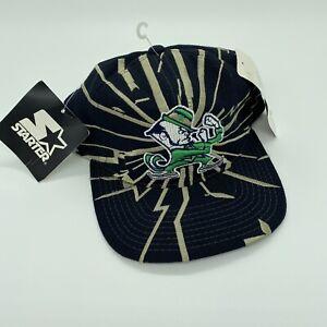Vintage SnapBack Hat Starter Collision Notre Dame Fighting Irish NWT NCAA