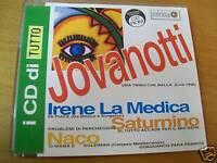 JOVANOTTI-IRENE LA MEDICA-SATURNINO UNA TRIBU CHE BALLA LIVE CD SINGOLO TUTTO