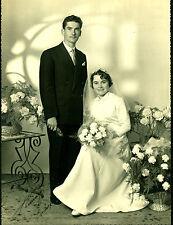 Photo ancienne mariage en Bretagne année 50 photographe de Carhaix