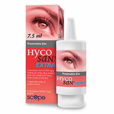 HYCOSAN EXTRA Dry Eye Lubricant Drops 7.5ml Preservative Free Scope