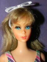 New Barbie Twist 'n Turn Waist Bandable Legs Doll 1967  #1162 Mattel Vintage TNT