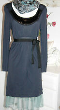 Noa Noa Tunika  Kleid  Dress Langarm Vulpecula  Darkness  size: M Neu