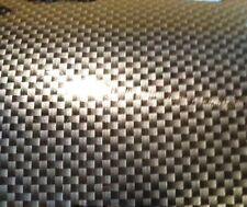 """1"""" x 8"""" 2D GLOSS Black Carbon Fiber Vinyl Sheet Decal Sticker Wrap SAMPLE Piece"""
