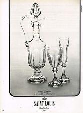 PUBLICITE ADVERTISING 014   1974   SAINT-LOUIS  crital  service CHAMBORD