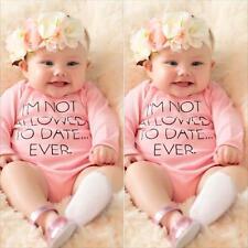 4 Piezas Recién Nacido Bebé Niño Niña trajes Ropa Pelele Blusas + Pantalones+