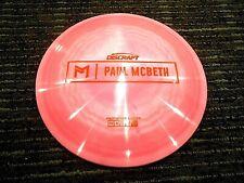 Rare Discraft Proto Esp Anax Paul Mcbeth Disc Golf Driver Prototype Bublgum 176G