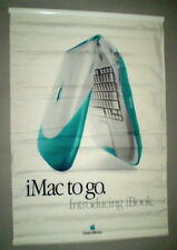 Apple Blueberry & Tangerine iBook Introduction Think Different Two Sided Banner