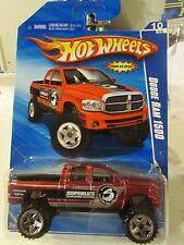 Hot Wheels Dodge Ram 1500 HW Performance Red (Truck Bed Opens)