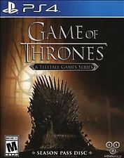 PlayStation 4 : Game of Thrones - A Telltale Games Serie VideoGames