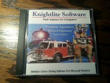 Pumping Apparatus Driver/Operator Study Software - Knightlite Software