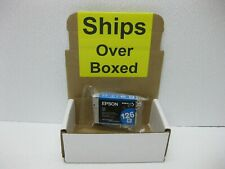 Epson 126 Cyan Ink T1262 New Genuine  *** SHIPS OVERBOXED *** T126220