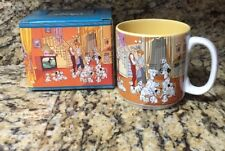 Disney Kitchenware 101 DALMATIANS W/ BOX YELLOW Ceramic Coffee Cup Mug