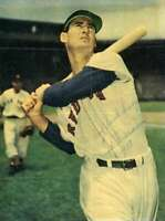Ted Williams Jsa Coa Autograph 7x9 1953 Photo  Hand Signed Authentic