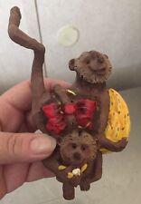 Department 56 Noahs Ark Pair of Monkeys Ornament-No Box